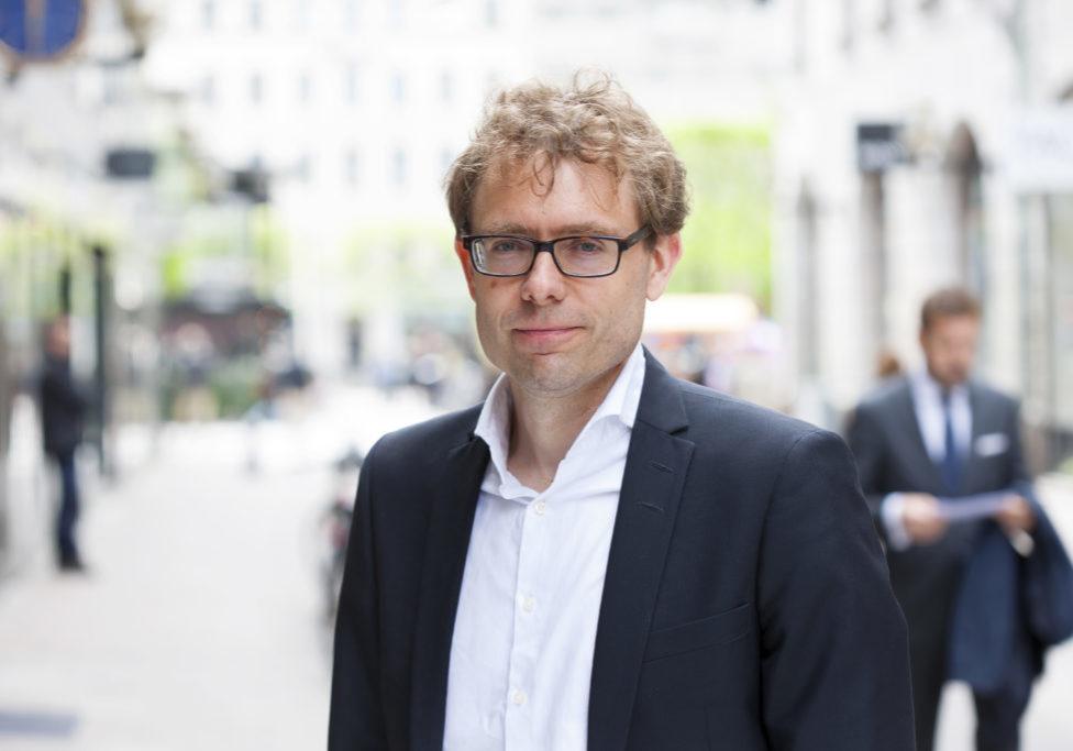 Karl-Johan Wall, Hållbarhetschef på Hufvudstaden